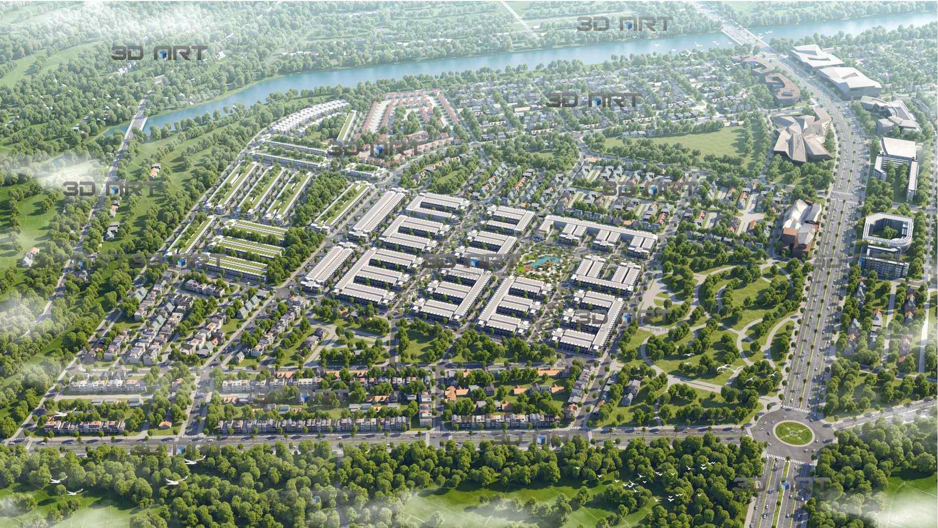 Khu đô thị KVG The Capella Nha Trang